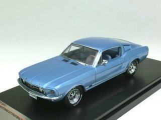 1/43 フォード マスタング GT ファストバック 1967 メタリックライトブルー/ブルーインテリア<br>