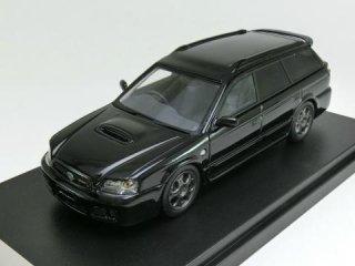 1/43 スバル レガシィ ツーリング ワゴン ブリッツェン 2002 ブラックトパーズ・マイカ<br>