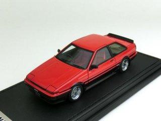 1/43 トヨタ スプリンター トレノ(AE86) 2-Door GT Apex レッド/ブラック<br>