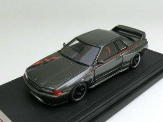 1/43 ニッサン スカイライン GT-R Nismo (R32) ガングレイメタリック<br>