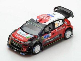 1/43 シトロエン C3 WRC ラリー・メキシコ 5位 2018 #11 S.Loeb<br>
