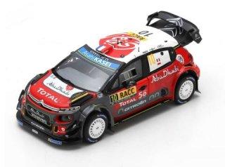 1/43 シトロエン C3 WRC ラリー・カタルーニャ 優勝 2018 #10 S.Loeb D.Elena<br>