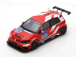 1/43 VW Golf GTi TCR Racing ONE GmbH ニュルブルクリンク24時間 2016 #204<br>