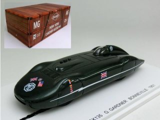 1/43 MG EX135 ボンネビル Class F Records Up To 137.40 MPH 1951<br>