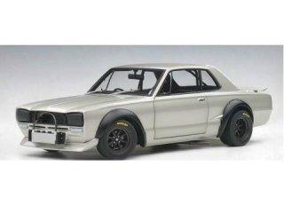 1/18 ニッサン スカイライン GT-R (KPGC10) レーシング 1972 シルバー<br>
