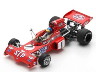 1/43 マーチ 721X F1 ベルギーGP 1972 #11 R.ピーターソン<br>