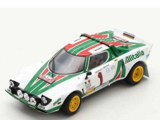 <img class='new_mark_img1' src='https://img.shop-pro.jp/img/new/icons12.gif' style='border:none;display:inline;margin:0px;padding:0px;width:auto;' />1/43 ランチア ストラトス HF Lancia Alitalia ラリー・モンテカルロ 優勝 1977 #1<br>