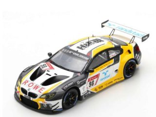 <img class='new_mark_img1' src='https://img.shop-pro.jp/img/new/icons12.gif' style='border:none;display:inline;margin:0px;padding:0px;width:auto;' />1/43 BMW M6 GT3 ROWE Racing ニュルブルクリンク24時間 2019 #98<br>