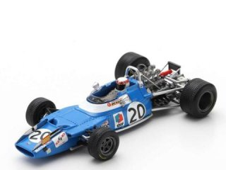 <img class='new_mark_img1' src='https://img.shop-pro.jp/img/new/icons12.gif' style='border:none;display:inline;margin:0px;padding:0px;width:auto;' />1/43 マトラ MS80 F1 イタリアGP 優勝 1969 ワールドチャンピオン #20 J.スチュワート<br>
