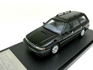 <img class='new_mark_img1' src='https://img.shop-pro.jp/img/new/icons12.gif' style='border:none;display:inline;margin:0px;padding:0px;width:auto;' />1/43 スバル レガシィ ツーリングワゴン GT 1989 ブラックマイカ/ミディアムグレー・メタリック<br>