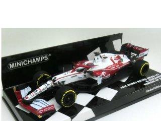 <img class='new_mark_img1' src='https://img.shop-pro.jp/img/new/icons12.gif' style='border:none;display:inline;margin:0px;padding:0px;width:auto;' />1/43 アルファロメオ C41  Alfa Romeo Racing ORLEN F1 バーレーンGP 11位 2021 #7 K.ライコネン<br>