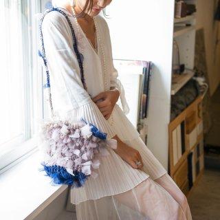 イヴォンヌ|咲き編みフリルバッグ|2way
