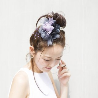 魔女|楽しく彩る咲き編みコサージュ