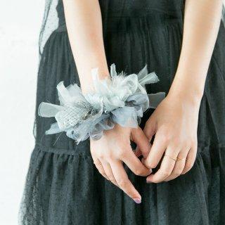 【冬季限定】ルイーズ|咲き編みシュシュ