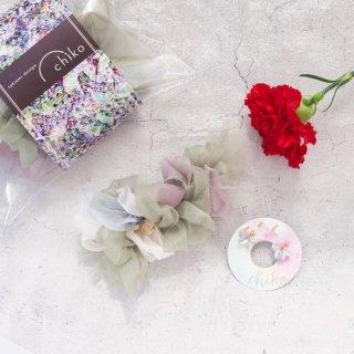 18%お得♡【母の日】母がウキウキするセット|咲き編みバレッタとえらべるピアス/イヤリング