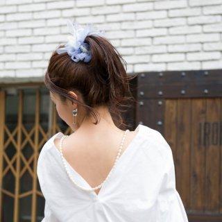【9/31迄】ドルフィン|彩る咲き編みシュシュ