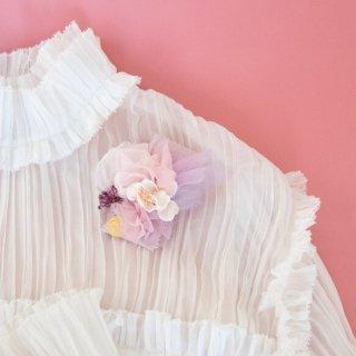 サクラ咲くコサージュ|咲き編みマリアージュ