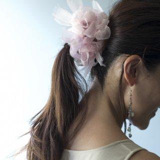 【OUTLET】レンゲ|彩る咲き編みシュシュ