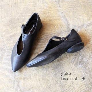 <img class='new_mark_img1' src='https://img.shop-pro.jp/img/new/icons23.gif' style='border:none;display:inline;margin:0px;padding:0px;width:auto;' />yuko imanishi+ 本革 ゴート デザイン ストラップ パンプス (yuko791039)