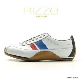 RIZZO リゾ  本革レザーシューズ 12850 blanco(rz12850-171blanco)