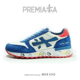 PREMIATA WHITE プレミアータ ホワイト MICK 4742 JAPAN LIMITED ※日本別注モデル(pre-mick4742)
