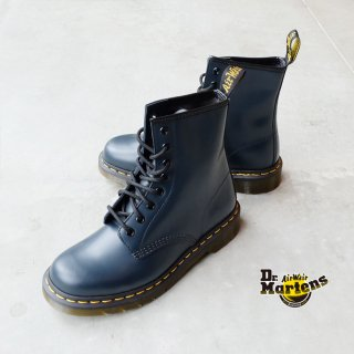 <img class='new_mark_img1' src='https://img.shop-pro.jp/img/new/icons23.gif' style='border:none;display:inline;margin:0px;padding:0px;width:auto;' />Dr.Martens ドクターマーチン/1460 8ホールブーツ ネイビー(レディース)(dm1460ladies)