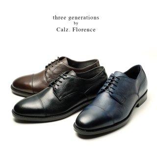 three generations by Calzaturificio Florence イタリア製ストレートチップシューズ(tg30265)