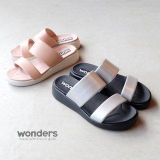 wonders 厚底ダブルベルトサンダル (wonders6506)