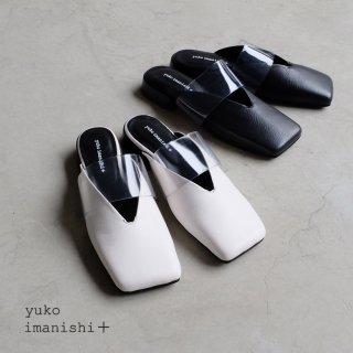 yuko imanishi+ ユウコイマニシプラス/クリアベルトミュール(yuko711068)