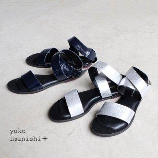 yuko imanishi+ ユウコイマニシプラス/アンクルベルトサンダル(yuko712028)