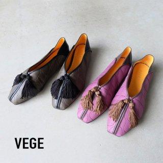 VEGE ベジ /ナイロン地フリンジチャイナシューズ Neo Shanghai(vege4002)