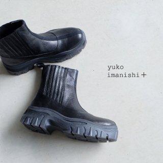 yuko imanishi+ 本革 厚底サイドゴアブーツ (yuko716038)