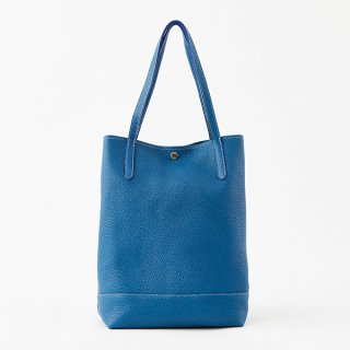 S.LEATHER VERTICAL TOTE L