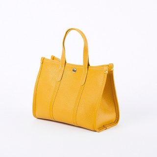 S.LEATHER PIPING TOTE S