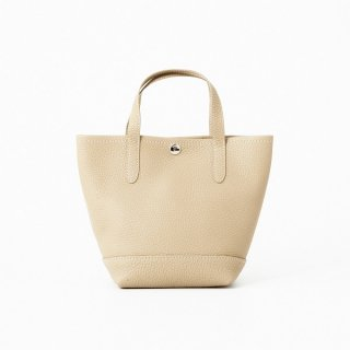 S.LEATHER SHORT.H VERTICAL TOTE S
