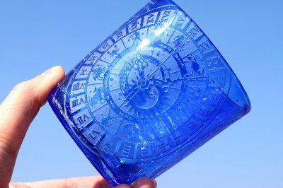 【ART空】「懐古クロノス」青・琉球グラス(品番22)