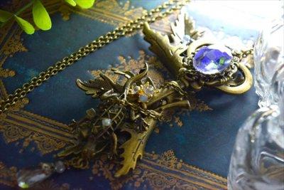 【猫山倶楽部】「ヴァレリアの鍵」ネックレス・オーロラ(品番800)