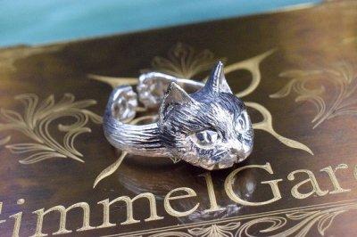【GimmelGarden】「高貴な鼻筋」猫リング
