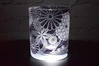 【Crafterior】「祝華菊」紫グラス(品番71)