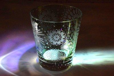 【Crafterior】大輪華【泡沫】緑グラス(品番70)