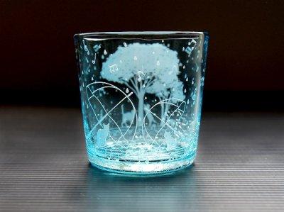 【ART空】「雨音猫・2021出会い」琉球グラス/先行販売品(品番49)