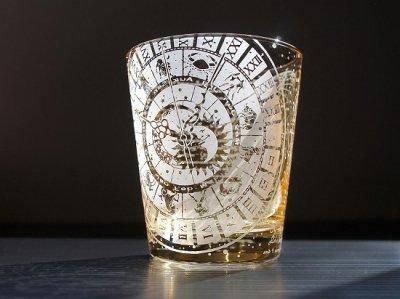 【ART空】「琥珀クロノス」グラス(品番45)