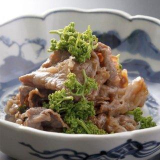 花山椒と牛肉の旨煮