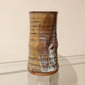 竹形筒花瓶