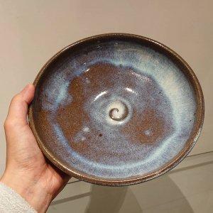 青小代七寸鉢