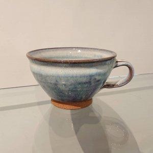 藁灰釉スープカップ