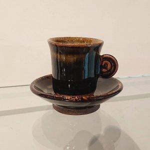 黒釉エスプレッソカップ