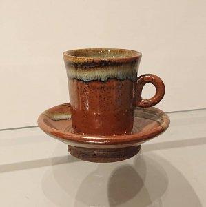 鉄釉エスプレッソカップ