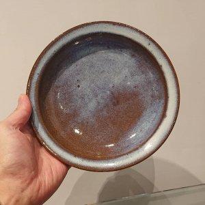 青小代六寸鉢