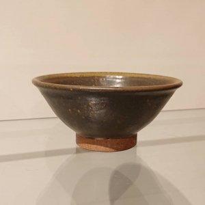 黒釉飯碗 (小)